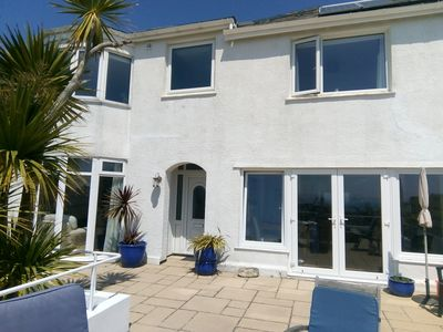 Photo for 3 bedroom house with stunning views of Falmouth Bay.