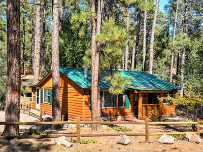 Photo for Cozy Cabin w/AC & Deck in Prescott National Forest