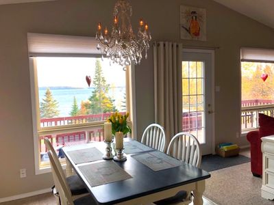 Photo for BEST RATE! 5-STARS ALL-SEASON THUNDER BAY LAKE SUPERIOR COTTAGE - VIEWS & HOTTUB
