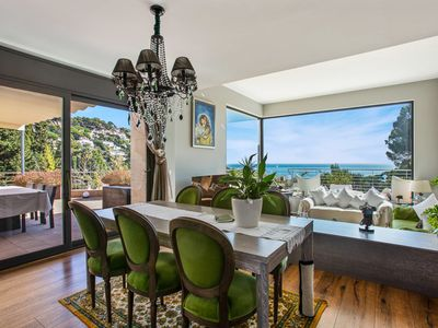 Photo for VILLA WITH FRONTAL  MAGNIFICAL SEA VIEWS