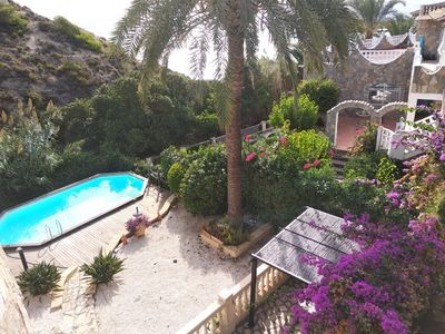 Photo for Beachfront villa Nick12p,Calpe, Swimmingpool, Seaview