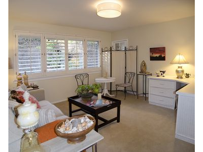 Photo for Secluded Garden Apartment Near Mission