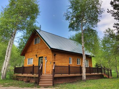 Photo for Aspen House-Privacy, wildlife, adjoining National Forest, 15 min to Yellowstone!