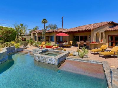 Photo for Flawlessly Appointed Spanish Style Custom Vacation Villa