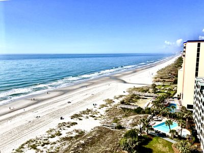Photo for Renovated fantastic balcony view condo - pools in & out, hot tubs, beach