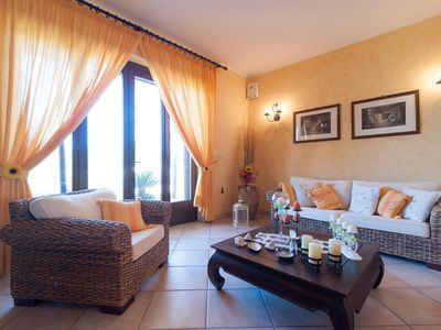 Photo for Villa Rose apartment in Marina di Mancaversa with shared terrace & shared garden.