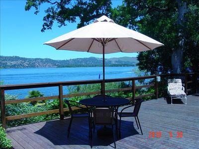 Photo for Lakefront Paradise-Family Fun,Fabulous Views,Private Lighted Pier&Dock, Kayaks!