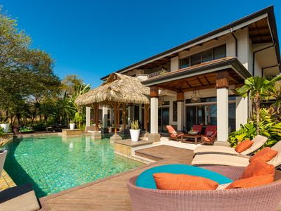 Photo for LUXURY Tropical Estate in Papagayo w/ Infinity Pool, Butler + Concierge!