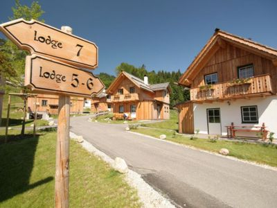 Photo for Luxury chalet for 6-9 persons in a chalet village, 2.5 km from the Altausseer See in Steiermark, 24