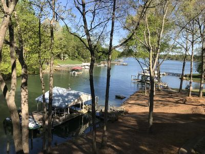 Photo for Waterfront Guest House on Beautiful Lake Norman
