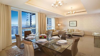 Photo for Deluxe 2 Bedroom Apartment in Dubai Marina
