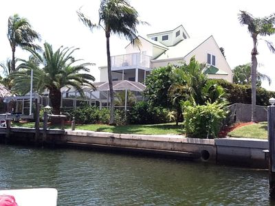 Photo for Lovely Key West Style Waterfront Heated Pool/Spa, Walk To South Beach
