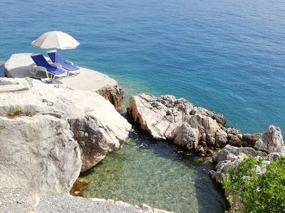 """Photo for MAGICAL HOUSE """" MARICA"""" WITH PRIVATE BEACH, PARADISE  FAR AWAY FROM STRESS LIFE"""