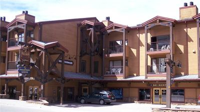 Photo for Cozy 2BD Condo w. Hot Tub Access, Across the Street from Quicksilver Lift!