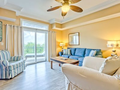 Photo for Two Bedroom Waterfront Condo with Community Pool, Tennis, Just Steps from Quiet Shoreline