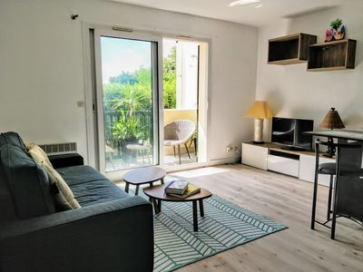 Photo for Typical apartment on the Basque coast, Guethary center