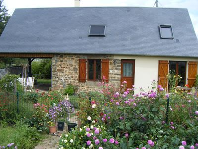 Photo for 1BR Cottage Vacation Rental in Ducey-Les Chéris, Normandie