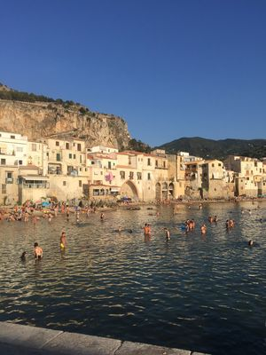Photo for Cefalu seafront apartment