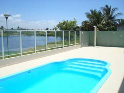 Photo for Ground floor apartment, furnished, on Flamengo beach, 50m from the beach!