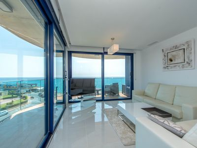 Photo for 3 bedroom Apartment, sleeps 6 in Punta Prima with Pool, Air Con and WiFi