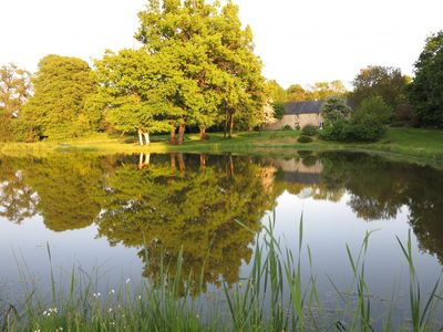 Photo for Exceptional view of ponds, not overlooked, calm, bathing, hiking, sailing
