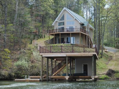 Photo for Roxy Park - Waterfront Home w/Dock & Great Views. Wi-Fi/Linens/Stocked Kitchen