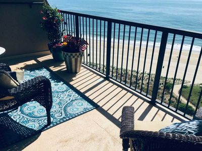 Photo for Beautiful 2 Level Penthouse Right on the Beach!  Full Ocean Views/SLEEPS 8
