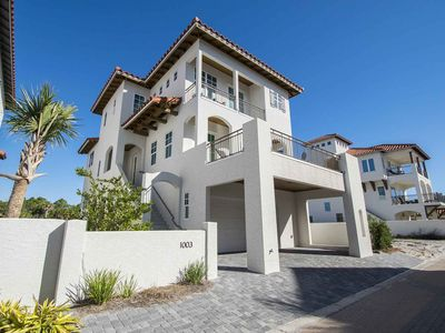 Photo for Private Beach Home in 30A! Just Steps to the Sand. Stunning Interior Spaces and