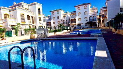 Photo for Apartment Molino Blanco - Swimming Pool, Terrace with Sea-view, Close to Beach