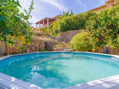 Photo for ES POADOR - Chalet with private pool in FORNALUTX.