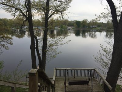 Photo for Reynolds Lake House With Huge Lot And Beautiful Views