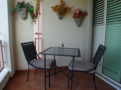 Balcony bistro set