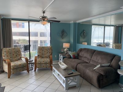 Photo for STAY ON THE BEACH 🏖!!!!Beach front view!!!Newly remodeled condo!!!