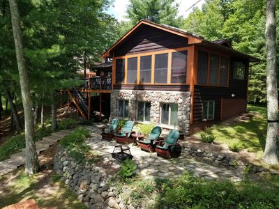 Photo for 6 Miles to Downtown Hayward! Full Recreation 500 Acre Lake; Quintessential Cabin