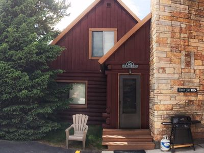 Photo for Authentic Log Cabin In Town, 2 Bedrooms Plus Master Suite, Close to Yellowstone