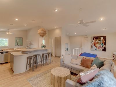 Photo for Free $250 Beach Gear Credit! Remodeled, Spacious, Pet-Friendly Folly Beach Home - 2100 sq ft!