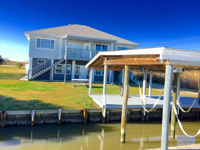 Photo for Waterfront 5BR Slidell House w/Private Boat Dock