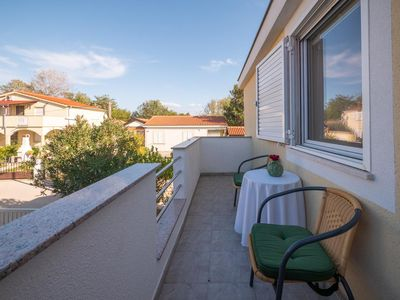 Photo for One bedroom apartment with terrace Nin, Zadar (A-5838-b)