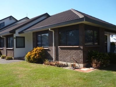 Photo for Sunny and well appointed Kairakau beach house.