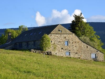 Photo for Authentic farmhouse dating back from 1631 sleeps 24 in Le Mézenc