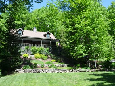 Photo for 3 bedroom, beautiful, lake view home with private hot tub.