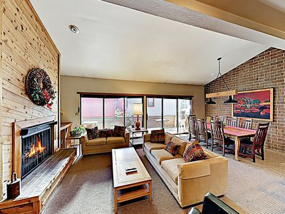 Living Area - Welcome to Park City! This townhome is professionally managed by TurnKey Vacation Rentals.