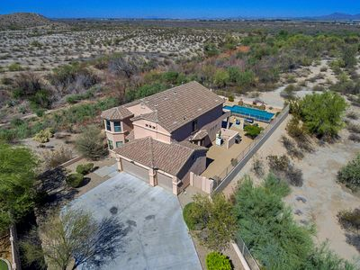 Photo for Desert View - Estrella Mountain Ranch 5 bed/3BA/Private View/Pool/Spa/GasFirePit