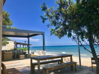 Photo for Ghisonaccia Beach-Bungalow 42 feet-in-the water - (casamarina2a.com)