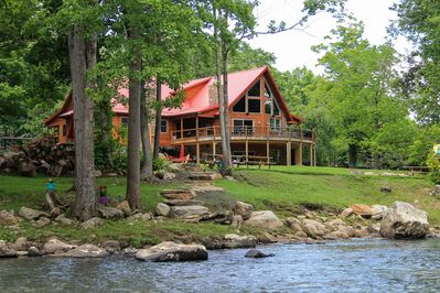300 feet of private riverfront property to fish, tube swim & create memories