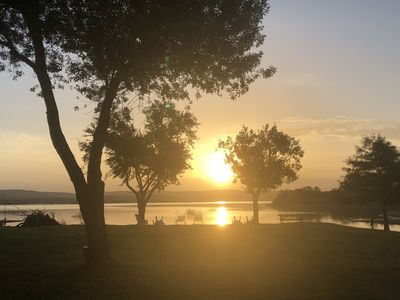 Photo for The Rose Cabin is a 1 bedroom / 1 bath on Lake Buchanan