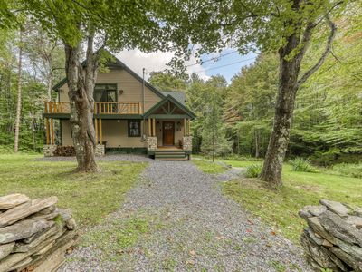 Photo for Charming, family & dog-friendly getaway w/ furnished deck & fun-filled game room