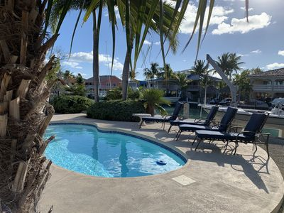 Photo for Reel Sunset with Pool and Canalfront in Duck Key