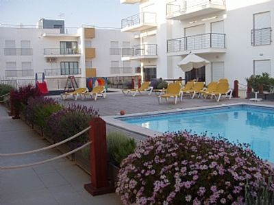 Photo for Apartment with Wifi and Shared Pool accessed via apartment patio