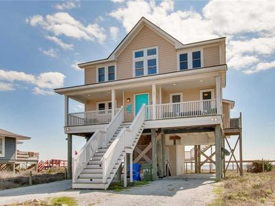 Photo for Nouveau Beach - Spacious Oceanfront Folly Home with Marsh Views from the Front Porch